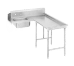 Advance Tabco DTS-G70-108R Island-Soil Dishtable