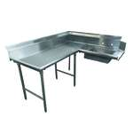 Advance Tabco DTS-K30-60L Korner-Soil Dishtable