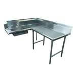 Advance Tabco DTS-K30-72R Korner-Soil Dishtable