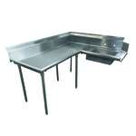 Advance Tabco DTS-K60-48L Korner-Soil Dishtable