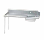 Advance Tabco DTS-S60-48L-X Straight-Soil Dishtable