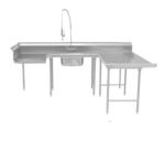 Advance Tabco DTS-U30-108R Dishtable