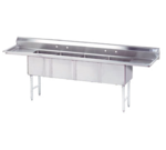 Advance Tabco FC-4-1824-18RL-X Fabricated NSF Sink