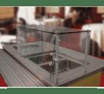 "Advance Tabco GSGC-15-60 Sleek"" Food Shield"
