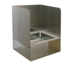 Advance Tabco K-288L Left side & back splash for 9-OP-20/40 mop sink (field installed by others)