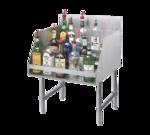 "Advance Tabco LD-2112 Underbar Basics"" Liquor Bottle Display Unit"