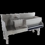 Advance Tabco PRU-24-48R Prestige Uni-Serv Speed Bar