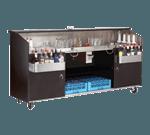 Advance Tabco R-8-B Regency Series Portable Bar