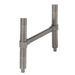 """Advance Tabco SU-10A Upgrade underbar legs to 18"""""""" stainless steel legs"""