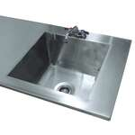 Advance Tabco TA-11V Sink Welded Into Table Top