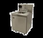 """Advance Tabco TA-MSC-2 Rear riser panel for 31"""" wide mobile sinks"""