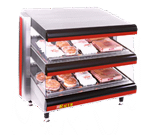 APW Wyott DMXD-30S Racer™ Slanted Open Air Heated Merchandiser