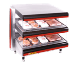 APW Wyott DMXD-42S Racer™ Slanted Open Air Heated Merchandiser