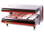 APW Wyott DMXS-42S Racer™ Slanted Open Air Heated Merchandiser