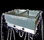 APW Wyott HFWAT-2 Hot Food Well Unit