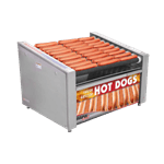 APW Wyott HRS-50BW X*PERT HotRod® Hot Dog Grill with Bun Warmer