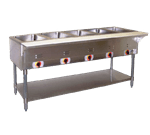 APW Wyott PST-5S Champion Hot Well Steam Table