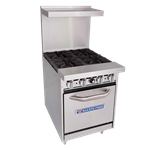 Bakers Pride 24-BP-0B-G24-S20 Restaurant Series Range