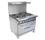 Bakers Pride 36-BP-4B-G12-S30 Restaurant Series Range