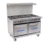 Bakers Pride Bakers Pride 48-BP-0B-G48-S20 Restaurant Series Range