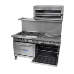 Bakers Pride 60-BP-6B-RG24-S26 Restaurant Series Range