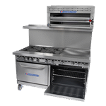 Bakers Pride 72-BP-10B-G12-S30 Restaurant Series Range