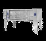 Bakers Pride Y-602BL Super Deck Series Pizza Deck Oven