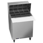 Beverage Air SPE27HC-12M-B Elite Series™ Mega Top Refrigerated Counter