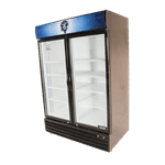 Bison Refrigeration BGM-49 Reach-In Glass Door Refrigerator