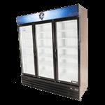 Bison Refrigeration BGM-53 Reach-In Glass Door Refrigerator
