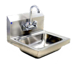 Blue Air BSH-14-SP Hand Sink with Splash Guard