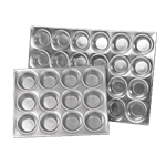 Browne USA Foodservice 1612A Muffin/Cup Cake Pan