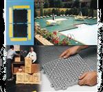 Cactus Mat 2557STD-COLOR Poly-Lok Vinyl Tile