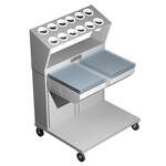 Caddy CM-1814-2CS Caddy Magic Tray & Silverware Dispenser