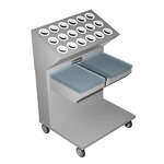 Caddy CM-1814-2CSL Caddy Magic Tray & Silverware Dispenser