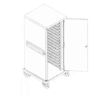 Caddy T-1220-C Pan Transport Cabinet