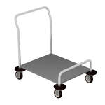 Caddy T-45 Platform Caddy for Trays