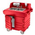 Cambro KSC402158 CamKiosk® Hand Sink Cart