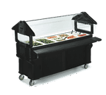 "Carlisle 661103 SixStar"" Portable Food Bar"