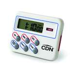 CDN TM8 Multi-Task Timer & Clock