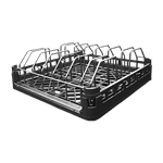 CMA Dishmachines 01154.00 Sheet Pan Rack with stainless steel insert (includes plastic open ended pan rack with stainless steel wire rack insert)