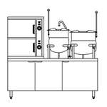 Crown ECX-2-6-10 Convection Steamer/Kettle