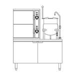 Crown SCX-10-10 Convection Steamer/Kettle