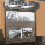 Curtron Products DT-24-EH 2-Go Pro Drive-Through Window Air Curtain