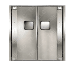Curtron Products SPD-20-SS-DBL-9696 Service-Pro® Series 20 Double Swinging Door