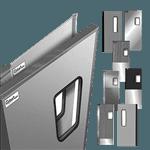 Curtron Products SPD-30-AL-GK-4284 Service-Pro® Series 30 Swinging Door