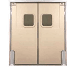 Curtron Products SPD-60-DBL-9696 Service-Pro® Series 60 Double Swinging Door