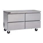 Delfield GUR24P-D 24'' 1 Section Undercounter Refrigerator with 2 Drawers and Side / Rear Breathing Compressor