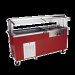 Delfield KH2CR-96-BP Shelleyglas® Combination Hot/Cold Serving Counter