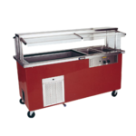 Delfield KH3CR-96-BP Shelleyglas® Combination Hot/Cold Serving Counter